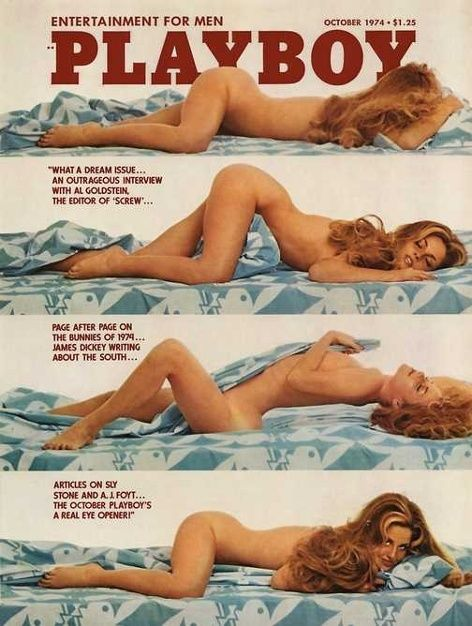 Playboy magazine cover October 1974 | Retro | Pinterest ...