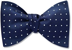 """Butterfly / Jumbo  The Butterfly (BF) bow tie is 3-1/2 inches high. Our equivalent of a """"Big and Tall"""" size.  Oversized bow tie for Julyan, jumbo for Steph's wedding - in a bright color"""