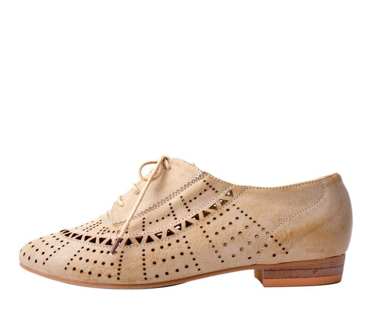 beige cutout oxfords $69 from Le Bunny Bleu