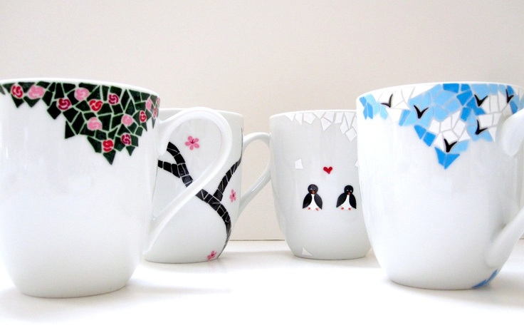 Coffee Mug Design HAND MADE COOL COFFEE MUG Pinterest