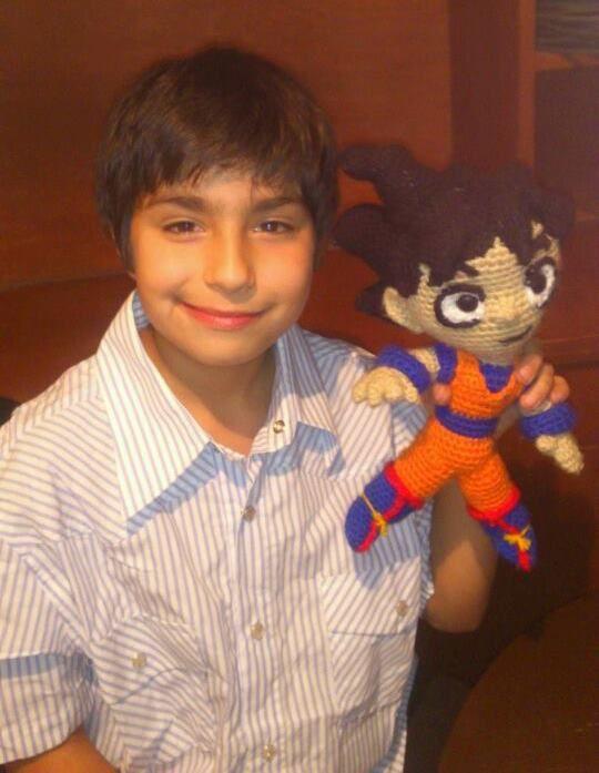 Amigurumi Dragon Ball Goku : AmigurumiMania: Goku de Dragon Ball Z en Amigurumi