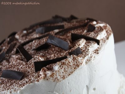 Tiramisu Layer Cake | let them eat cakes and cupcakes | Pinterest