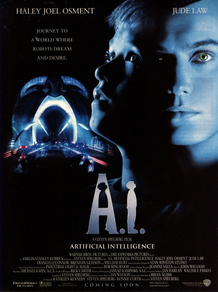 inteligencia artificial movie: