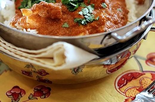 Indian Butter Chicken with Basmati Rice | Recipes | Pinterest