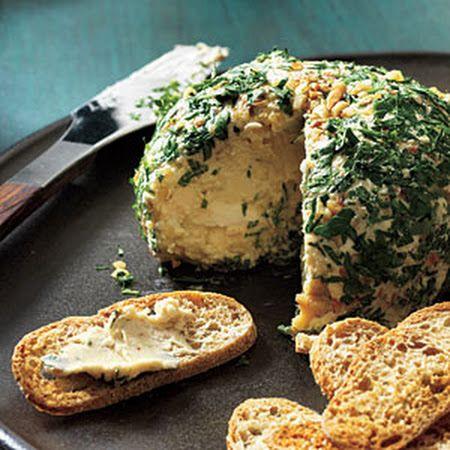 Top Date, Walnut, and Blue Cheese Ball! Viola! #cheeseball #walnuts # ...