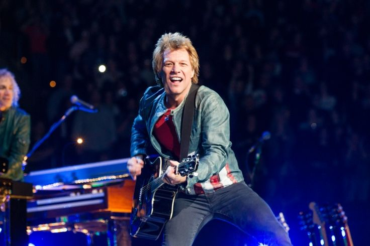 Jon Bon Jovi commands the stage during a performance on Nov. 5 in Philadelphia