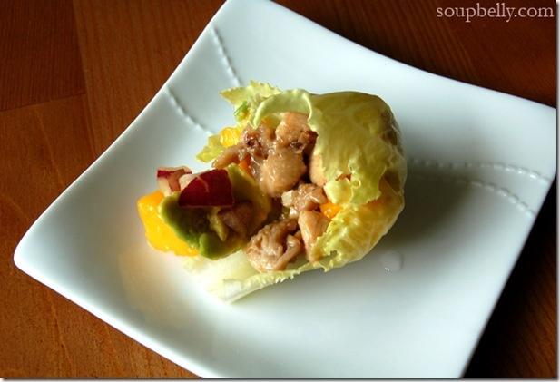 Lettuce - Chicken mango lettuce wraps | Green Grocer Recipes | Pinter ...