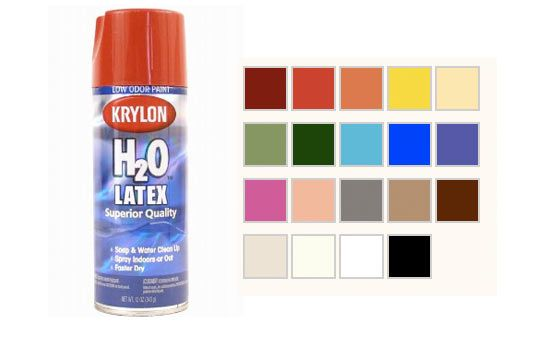 Look Krylon 39 S Low Voc Spray Paint