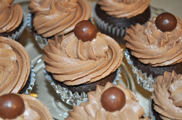 Chocolate Malt Cupcakes | Foodie | Pinterest