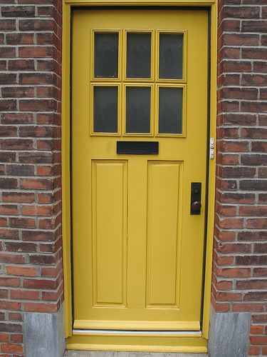 Yellow Door For The Home Pinterest