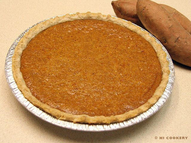 Sweet potato pie is considered food for the soul classic and