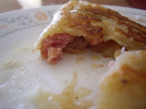 Pork Roast With Sauerkraut And Kielbasa Recipe — Dishmaps