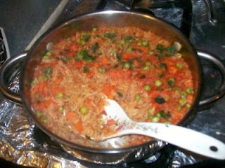 Mexican Red Rice-sub chicken bullion for vegetable bullion