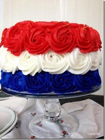 bastille day cake