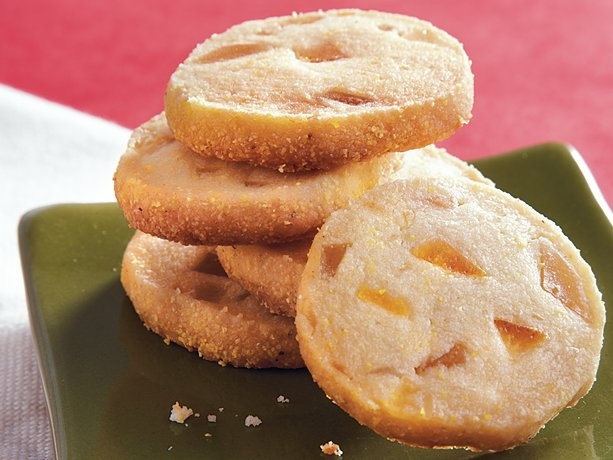 Citrus Cornmeal Shortbread | Recipe