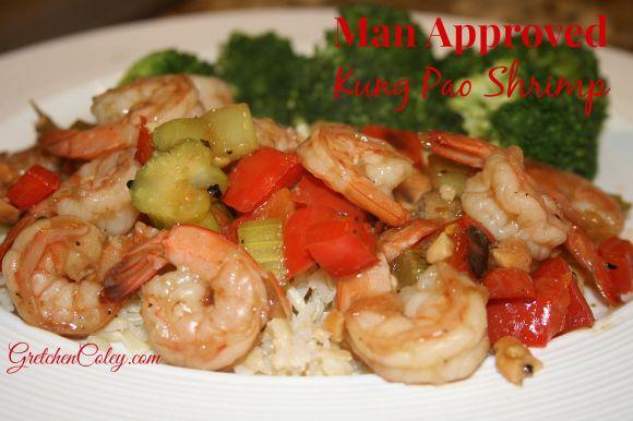 Kung Pao Shrimp | #FitMom Recipes | Pinterest