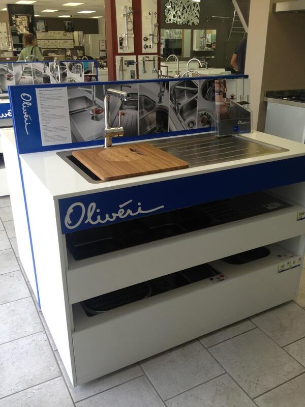 Oliveri kitchen sinks at Northerns Plumbing Supplies