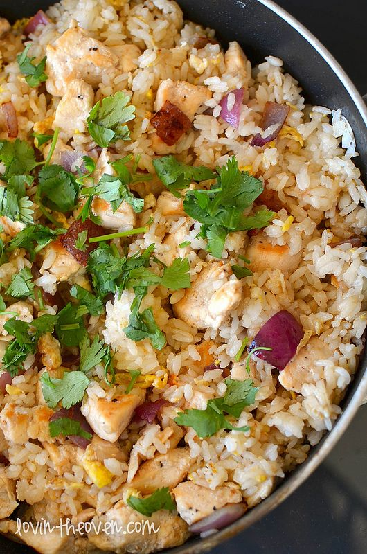 Lovin' From The Oven:Chicken Fried Rice - Lovin' From The Oven