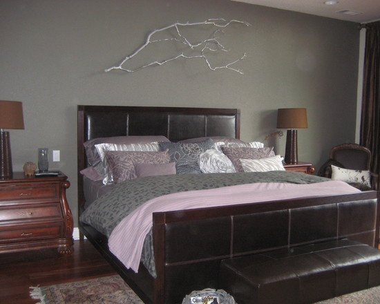 Lavender gray bedding our home pinterest - Lavender and gray bedroom ...