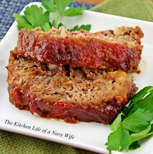 Brown Sugar Meatloaf | yum | Pinterest