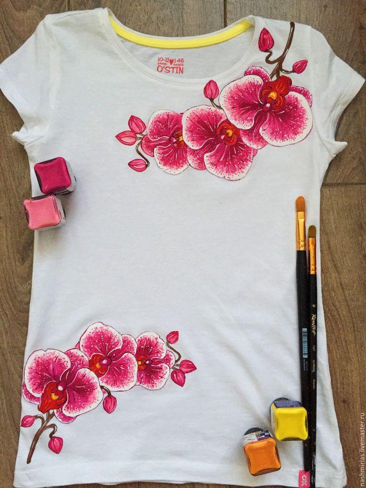 Принты на футболку своими руками красками 18