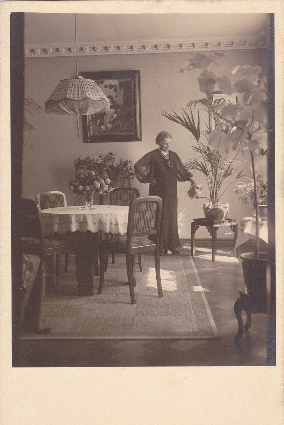 watering the house plants home interior 1920s vintage home interiors of the 1920s home design and style