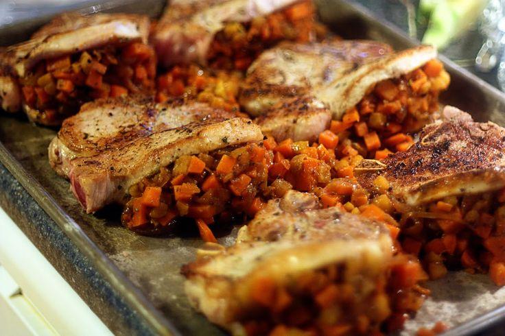 Stuffed Pork Chops III Recipes — Dishmaps