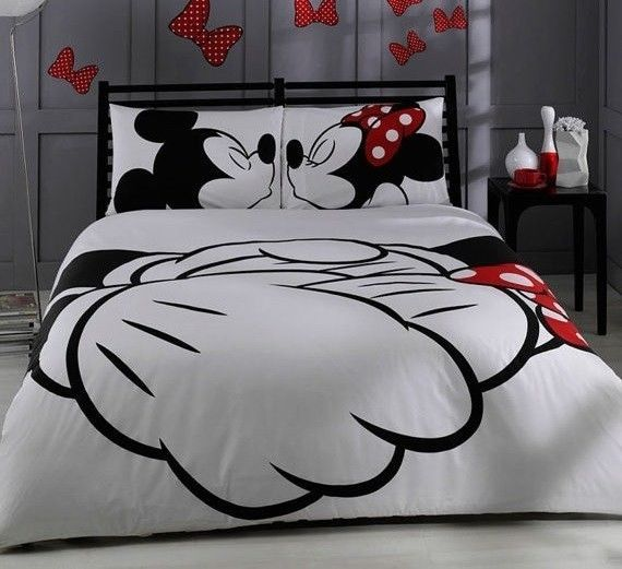 Disney Mickey Mouse King Size Double Duvet Set Cover