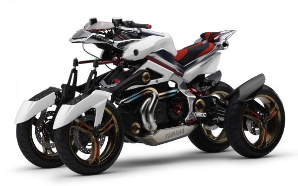 Yamaha Four Wheel Motorcycle Concept Nice Ride Pinterest