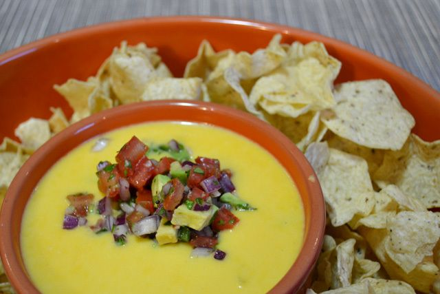 Texas Queso Dip @ Texas Motor Speedway | NASCAR Recipes | Pinterest