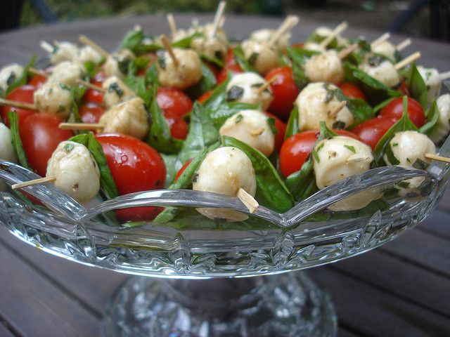 Caprese Salad Kabobs by chrisfreeland2002, via Flickr: Made these last ...
