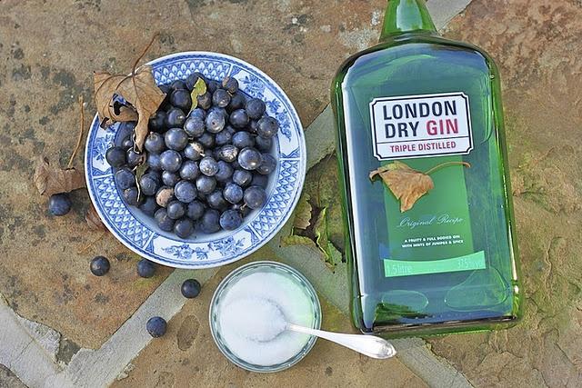 Homemade sloe gin!   personalizing drink   Pinterest