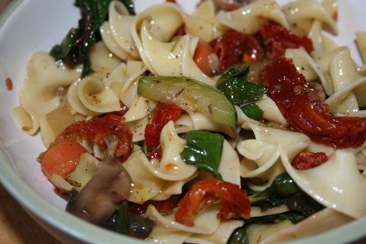 Greek Pasta Salad With Sun-Dried Tomato Vinaigrette Recipe ...