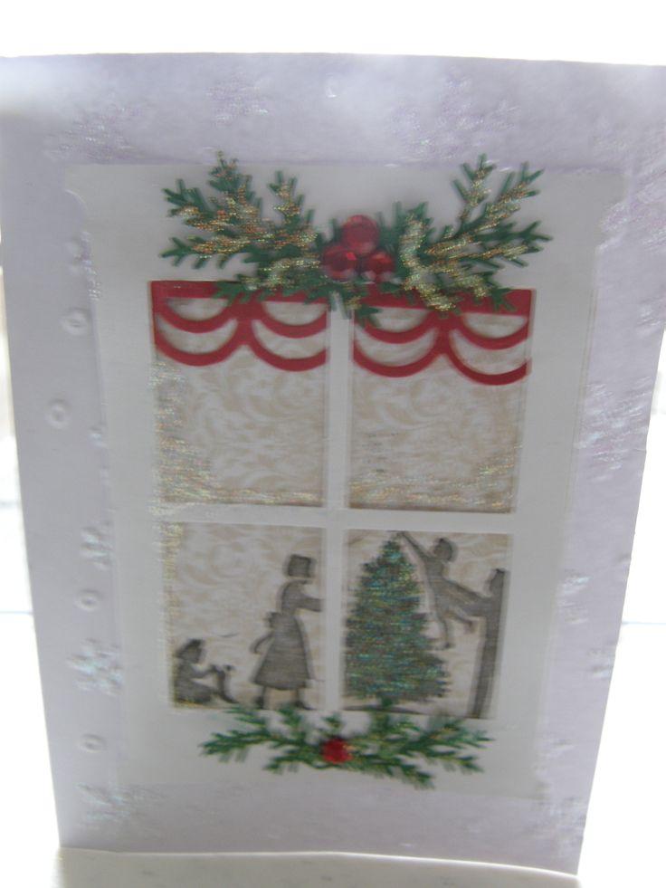 Christmas handmade cards pinterest for Handmade christmas cards pinterest