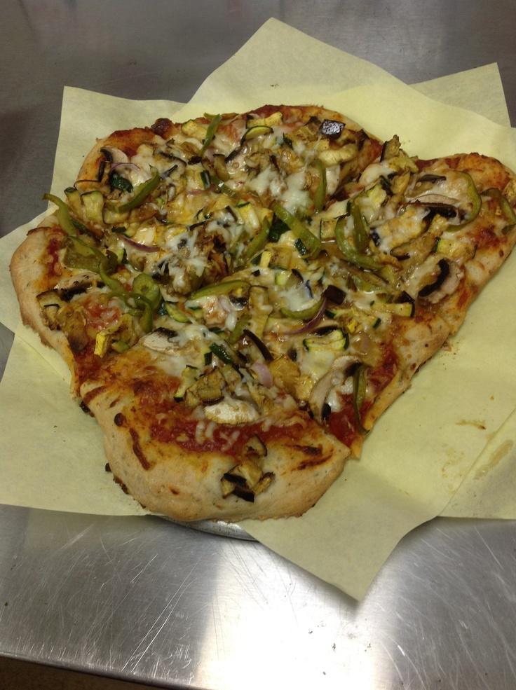 Grilled veggie pizza | My kitchen | Pinterest