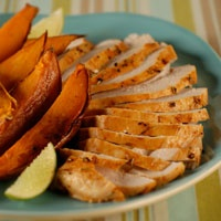 spice-rubbed turkey breast | Recipes | Pinterest