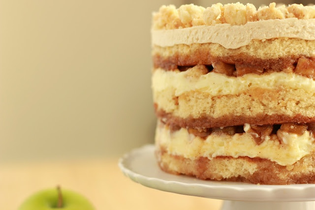 Apple Pie Layer Cake | Yummy things! | Pinterest