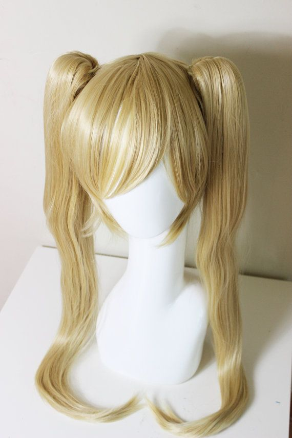 Blonde Pigtail Cosplay Wigs Wigs By Unique