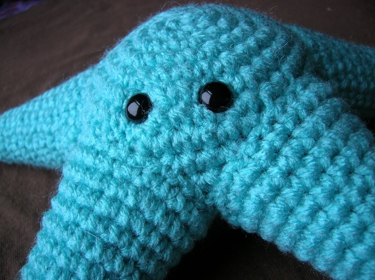 Amigurumi Starfish Pattern : Stuart the Starfish - Amigurumi Plush Crochet PATTERN ONLY ...