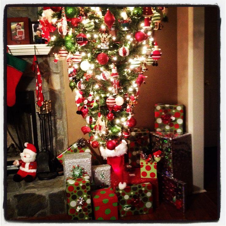 My Hanging Upside Down Christmas Tree Home Stuff
