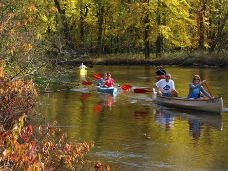 canoe livery michigan