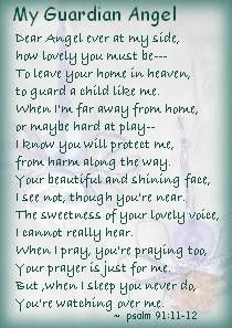 free printable guardian angel poem with picture | just b.CAUSE