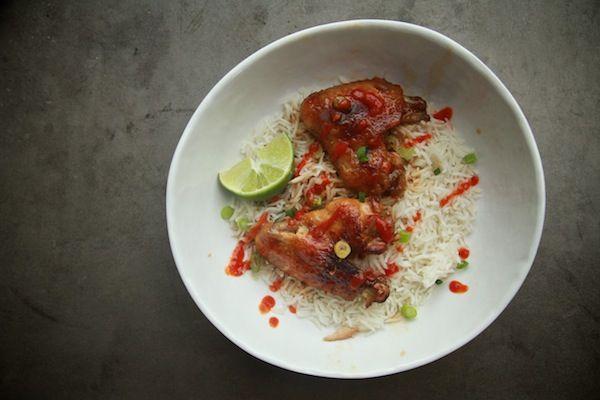 Sriracha Glazed Chicken | Shutterbean | Eats - Savoury | Pinterest