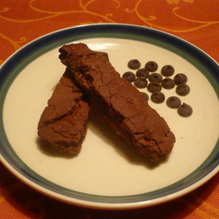 Gluten-Free Double Chocolate Biscotti | Gluten-Free Baking | Pinterest