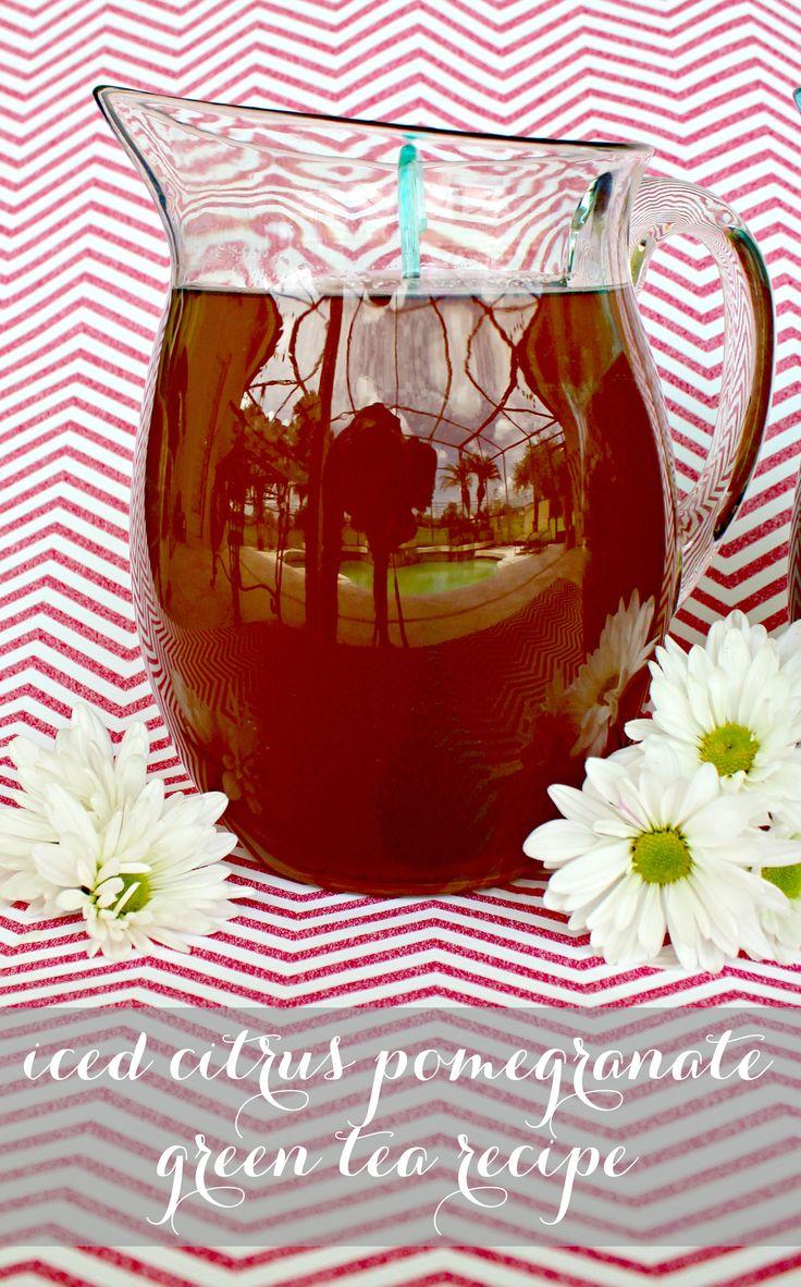 Green Tea Pomegranate Lemonade Recipes — Dishmaps