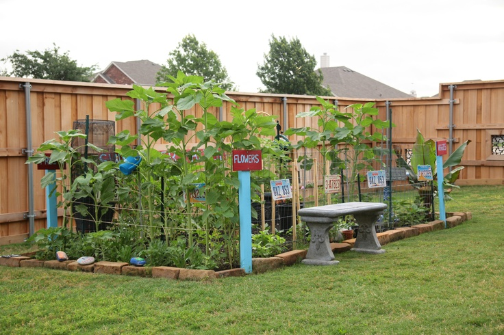 Suburban Backyard Landscaping : Backyard suburban garden  Garden  Pinterest
