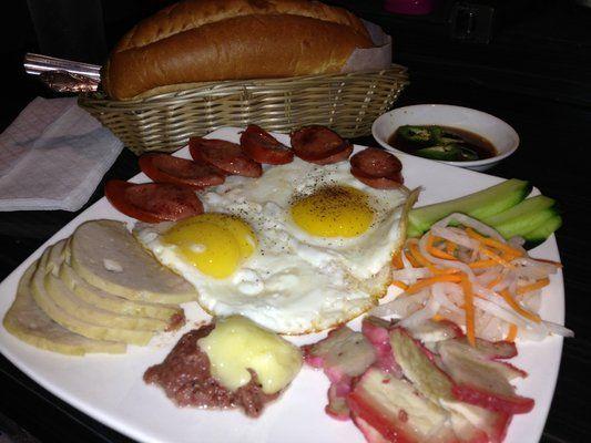 Banh mi opla! Breakfast plate | Vietnamese Breakfast | Pinterest