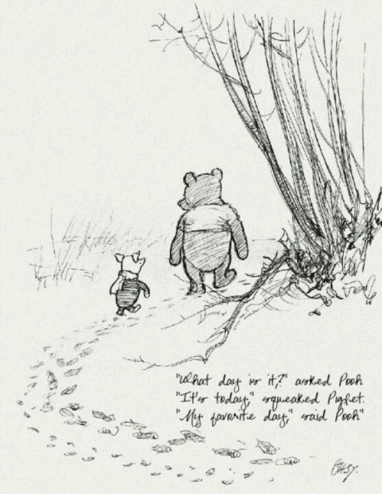Winnie the pooh was based on people with mental disorders in an insane