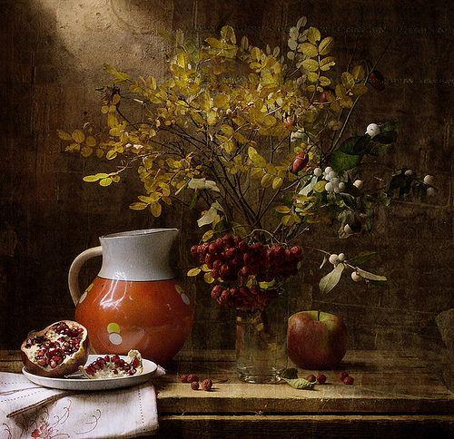 Осенние цвета by marasapego via flickr still life