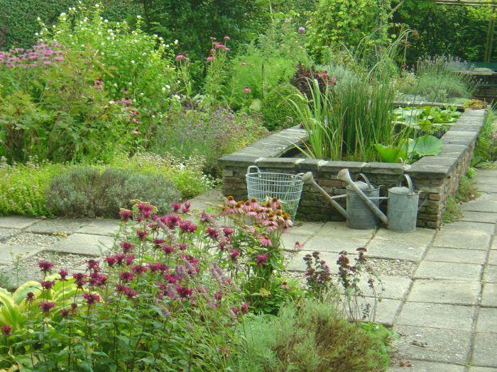 Raised Outdoor Pond : raised patio pond  In the Garden  Pinterest